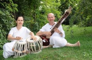 Adesh és Ajita - szitár és tabla - Sri Chinmoy kompozíciói