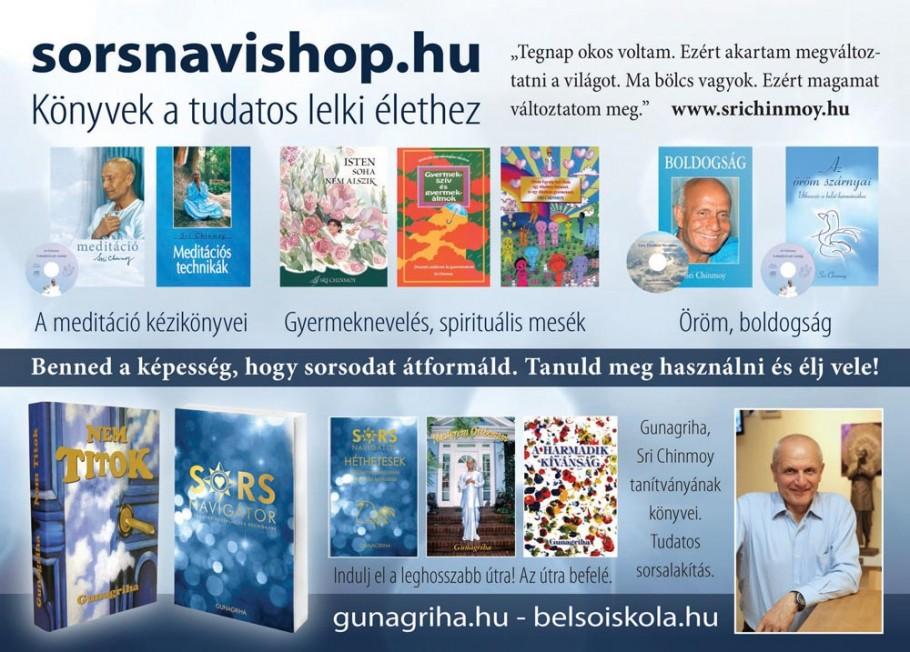 Sri Chinmoy könyvei - sorsnavishop.hu
